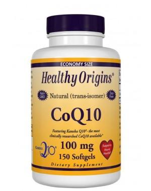 CoQ10 100mg 150 softgels HEALTHY Origins