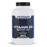 Vitamina D3 5.000 360 Veg Capsulas PLV Proline Vitamins - Frete Grátis