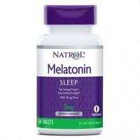 Melatonina 5 mg 60 tablets NATROL vencimento 12/2021