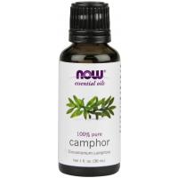 Óleo essencial de Camphor Canfora 1oz 30ml NOW Foods