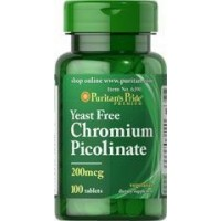 Picolinato de Cromo 200 mg 100 tablets PURITANS Pride