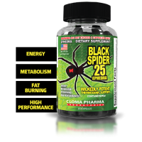 Black Spider termogênico 100 Caps - Cloma Pharma