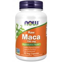 Maca 750 mg Raw 90 Veg Capsules NOW