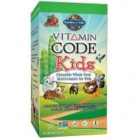 Vitamin Code Kids Multivitaminico para criancas 60 chewable bears GARDEN OF LIFE