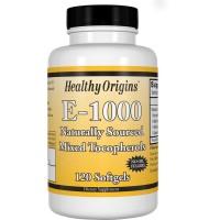 E 1000 Mixed Toco 120 Softgels HEALTHY Origins