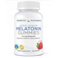Melatonina gummies zero acucar 1.5mg 60gummies NORDIC Naturals
