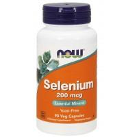 Selenium 200 mcg 90 Veg Capsules NOW