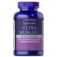 Ultra Woman Daily Multi 90 caplets PURITANS Pride